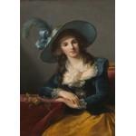 Grafika-02187 Louise-Élisabeth Vigee le Brun : Comtesse de Segur, 1785