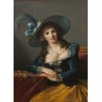 Grafika-02188 Louise-Élisabeth Vigee le Brun : Comtesse de Segur, 1785