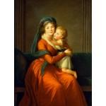 Grafika-02195 Louise-Élisabeth Vigee le Brun : Princesse Alexandra Golitsyna et son fils Piotr, 1794