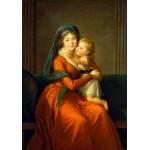 Grafika-02196 Louise-Élisabeth Vigee le Brun : Princesse Alexandra Golitsyna et son fils Piotr, 1794