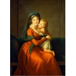 Grafika-02197 Louise-Élisabeth Vigee le Brun : Princesse Alexandra Golitsyna et son fils Piotr, 1794