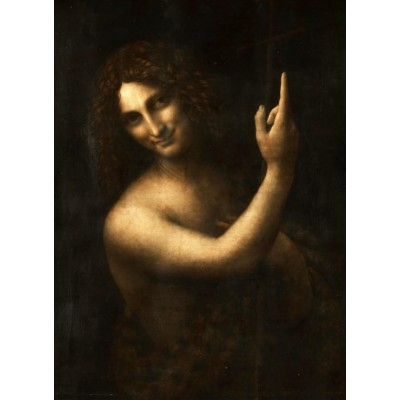 Grafika-02249 Leonard de Vinci : Saint Jean-Baptiste, 1513