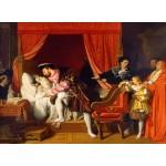 Grafika-02250 Jean-Auguste-Dominique Ingres : François Ier reçoit les derniers soupirs de Léonard de Vinci, 1818
