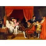 Grafika-02252 Jean-Auguste-Dominique Ingres : François Ier reçoit les derniers soupirs de Léonard de Vinci, 1818