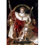 Grafika-02253 Jean-Auguste-Dominique Ingres : Napoléon sur le trône impérial, 1806