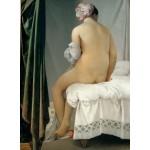 Grafika-02263 Jean-Auguste-Dominique Ingres : La Baigneuse Valpinçon, 1808