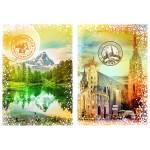 Grafika-02268 Travel around the World - Autriche et Suisse