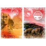 Grafika-02274 Travel around the World - Afrique, Egypte et Kenya