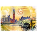 Grafika-02474 Travel around the World - Royaume Uni