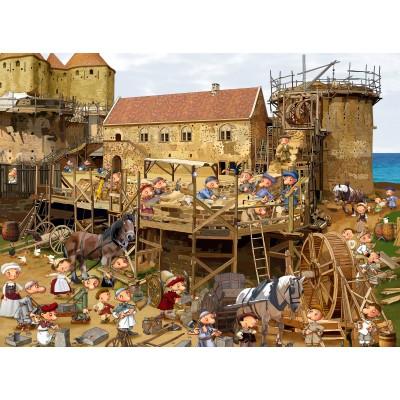 Grafika-02484 François Ruyer - Construction au Moyen-Âge