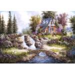 Grafika-02486 Dennis Lewan - Alpine Falls