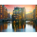 Grafika-02510 Deutschland Edition - Hamburg, Alte Speicherstadt