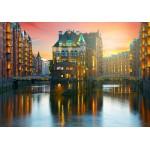 Grafika-02511 Deutschland Edition - Hamburg, Alte Speicherstadt