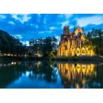 Grafika-02529 Deutschland Edition - Stuttgart, Johanneskirche am Feuersee