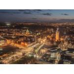 Grafika-02562 Deutschland Edition - Skyline, Leipzig, Allemagne