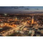 Grafika-02563 Deutschland Edition - Skyline, Leipzig, Allemagne