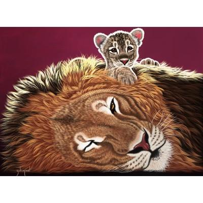 Grafika-02576 Schim Schimmel - Daddy and the King