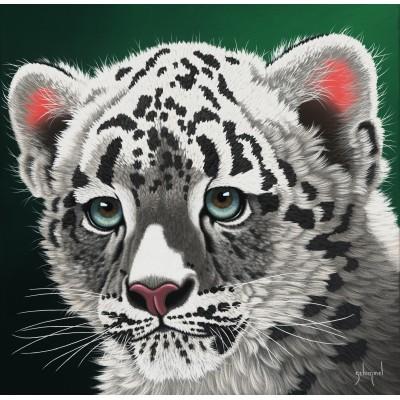 Grafika-02591 Schim Schimmel - Young Leopard