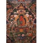 Grafika-02667 Buddha Amitabha in His Pure Land of Suvakti