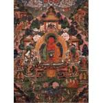 Grafika-02668 Buddha Amitabha in His Pure Land of Suvakti