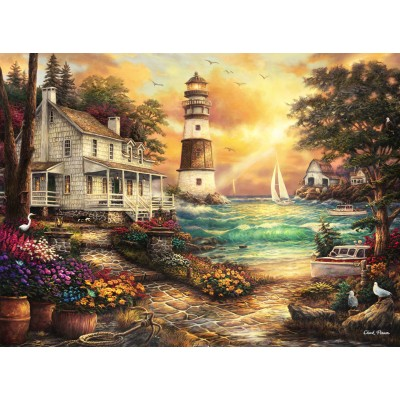 Grafika-02691 Chuck Pinson - Cottage by the Sea