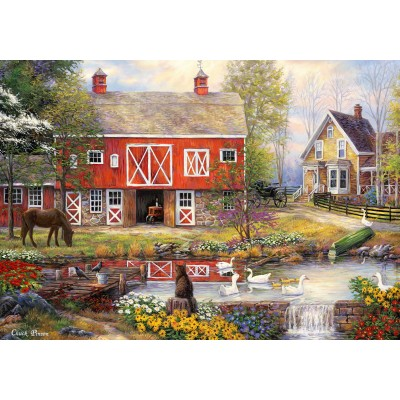 Grafika-02738 Chuck Pinson - Reflections On Country Living