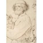 Grafika-02793 Brueghel Pieter - Le Peintre et l'Acheteur, 1565
