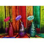 Grafika-02821 Vases Fleuris et Colorés