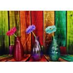 Grafika-02822 Vases Fleuris et Colorés