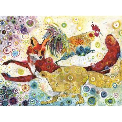 Grafika-02837 Sally Rich - Leaping Fox's