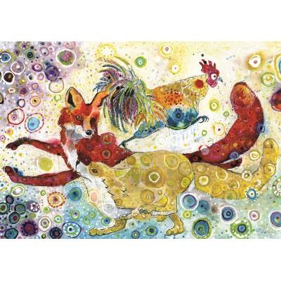 Grafika-02838 Sally Rich - Leaping Fox's