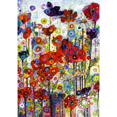 Grafika-02868 Sally Rich - Poppies