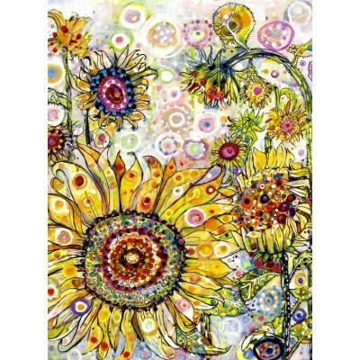 Grafika-02874 Sally Rich - Sunflowers