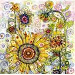 Grafika-02875 Sally Rich - Sunflowers