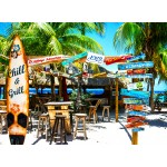 Grafika-02877 Willemstad Beach, Curaçao