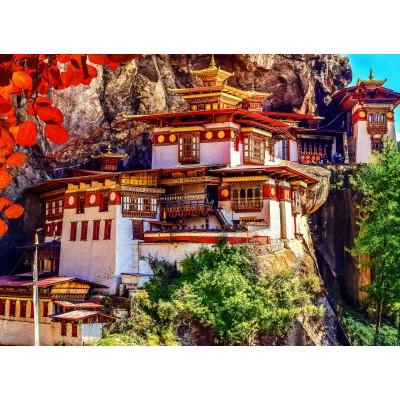Grafika-02888 Taktshang, Bhoutan