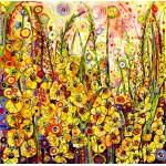 Grafika-02896 Sally Rich - Golden Gladioli