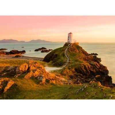 Grafika-02937 Old lighthouse at Llanddwyn Island, Anglesey