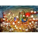 Grafika-02968 Crazy Chicken Coop