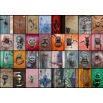 Grafika-T-00042 Collage - Portes