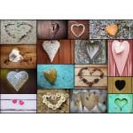 Grafika-T-00043 Collage - Love