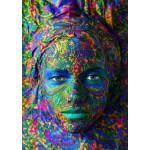 Grafika-T-00052 Face Art : Portrait de Femme