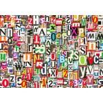 Grafika-T-00079 Collage de Chiffres et de Lettres