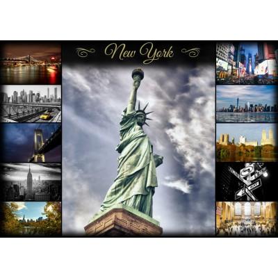 Grafika-T-00087 Collage - New York