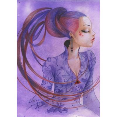 Grafika-T-00123 Misstigri : Violette