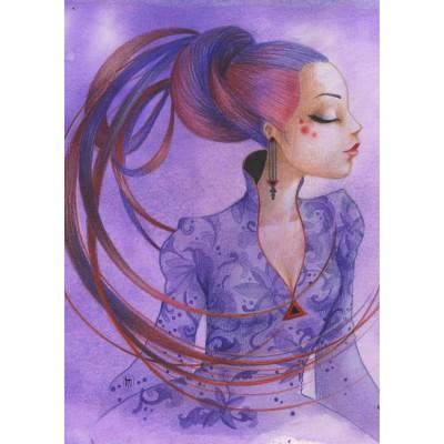 Grafika-T-00124 Misstigri : Violette