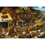 Grafika-T-00153 Brueghel Pieter : Proverbes Flamands, 1559