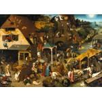 Grafika-T-00154 Brueghel Pieter : Proverbes Flamands, 1559