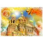 Grafika-T-00213 Travel around the World - Russie