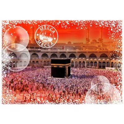 Grafika-T-00222 Travel around the World - Arabie Saoudite